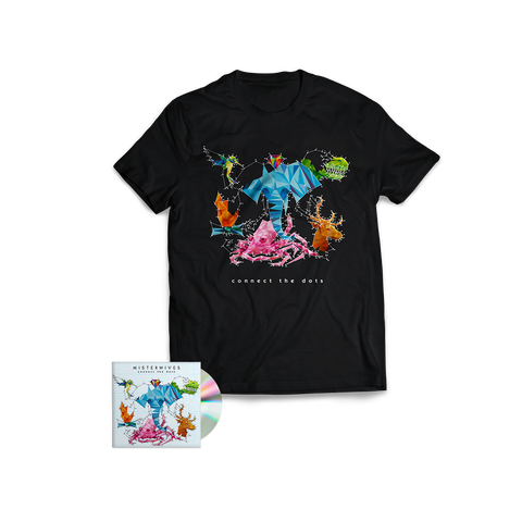 Connect The Dots CD + T-Shirt Bundle