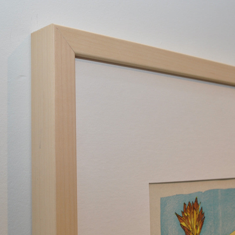 Natural Blonde Wood Frame