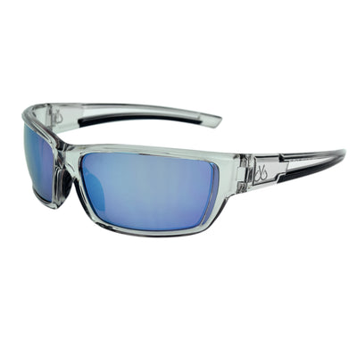 Smoked/Polarized w/ Ice Blue Mirror