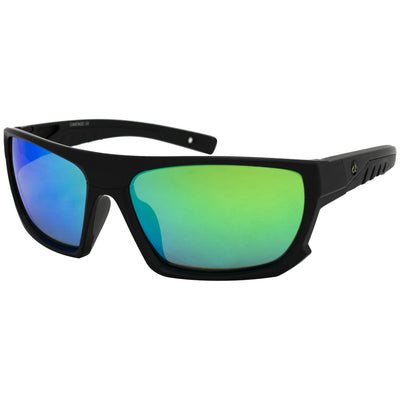 Matte Black/Polarized EP Green Mirror