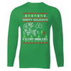 Ugly Christmas Sweater Long Sleeve Shirt