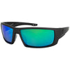 Matte Graphite/Polarized EP Green Mirror