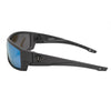 Matte Graphite/Smoked Polarized w/ Ice Blue Mirror