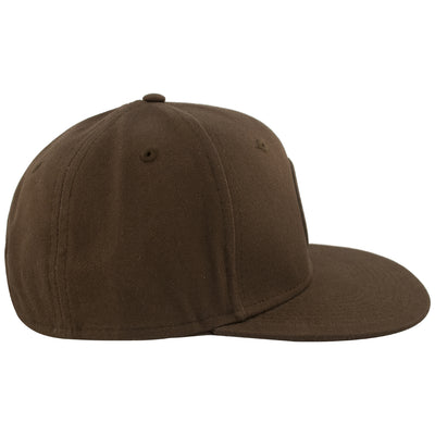 Filthy Seal Hat, Flat Brim, Brown