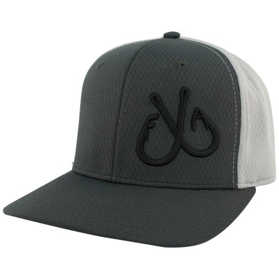 3D Hooks Hat, ProHex Charcoal Grey