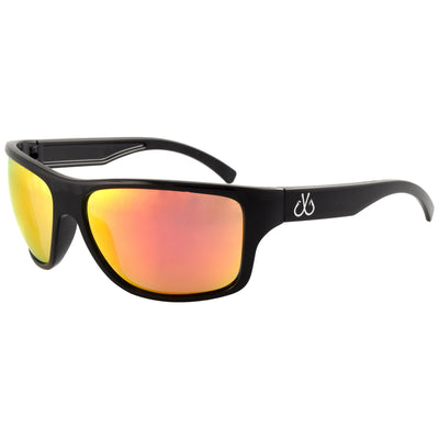 Black Frame/Polarized w/ Sunburst Mirror