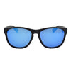 Matte Black/Polarized w/ Blue Mirror
