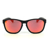 Matte Black/Polarized w/ Red Mirror