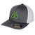 FlexFit Trucker Hat, 2 Tone Charcoal & White