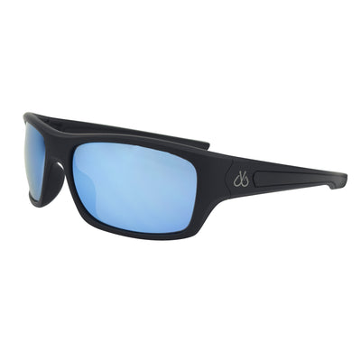 Matte Black/Polarized w/ Ice Blue Mirror