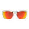 Matte Clear/Polarized w/ Sunburst Mirror