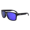 Matte Black Polarized EP Blue Mirror Lenses