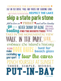 Put-in-Bay Experiences Print