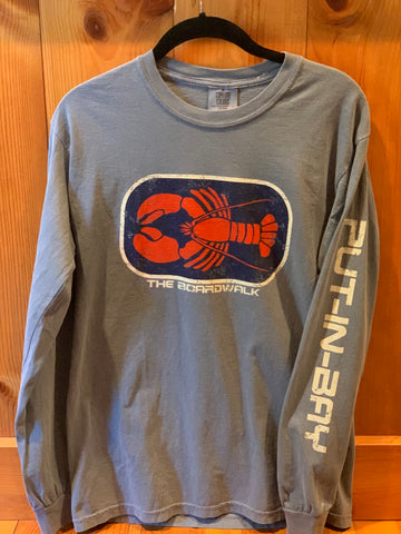 Hot Shot Lobster Long Sleeve Tee