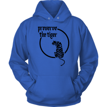 Tiger on the moon hoodie