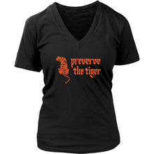 T-shirt - Tiger Women's V-neck Tee