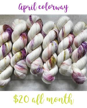 ORCHID (April colorway of the month)