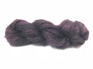 EGGPLANT KIDSILK LACE CLOUD