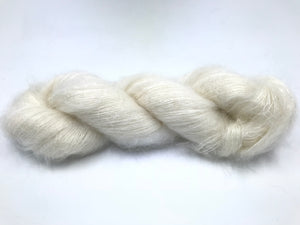 SNOW KIDSILK LACE CLOUD