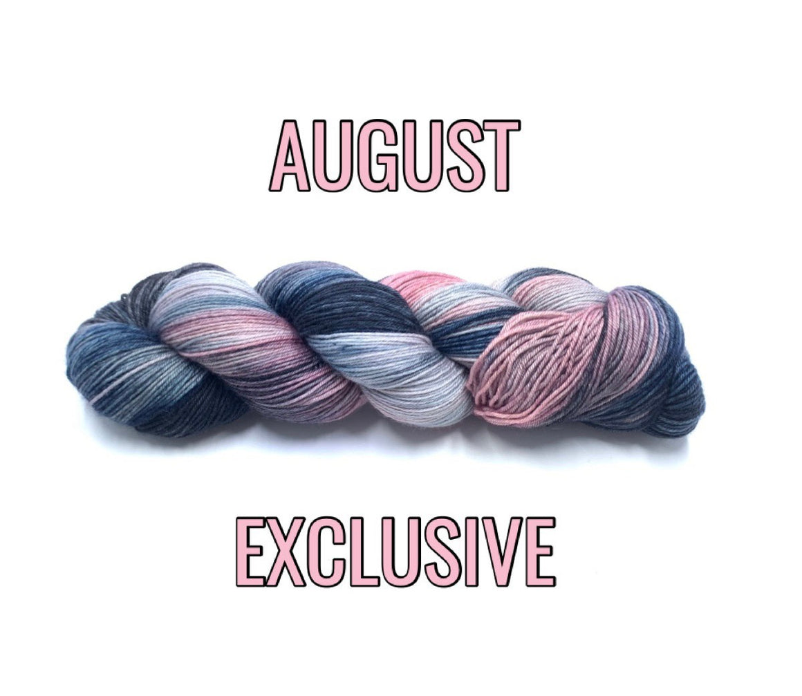 AUGUST 2019 EXCLUSIVE SOCK/FINGERING