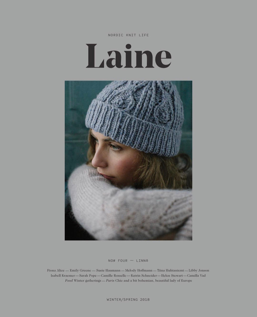 LAINE MAGAZINE- Winter/Spring 2018
