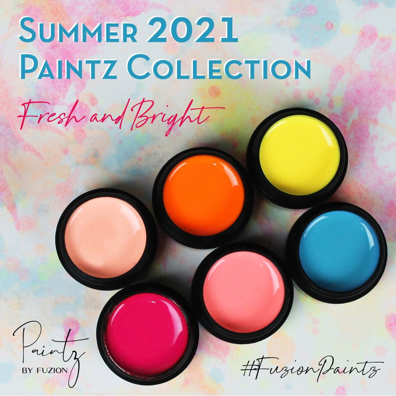 FUZION PAINTZ SUMMER 2021 FRESH & BRIGHT COLLECTION