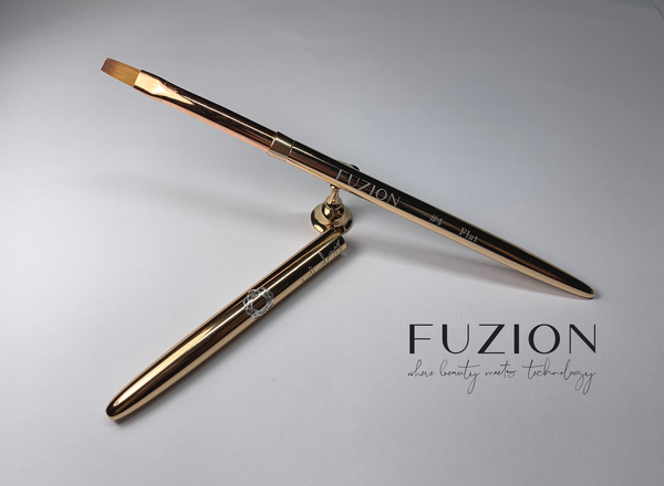 New Fuzion Signature Series Gel Brushes with Lids