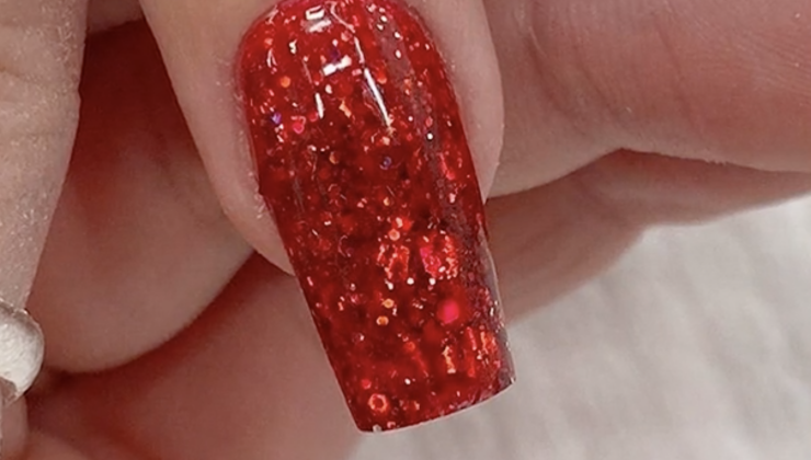 Chunky Glitter Design by Chrissie Pearce