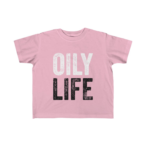 'OILY LIFE' Unisex Toddler Fine Jersey Tee