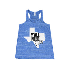 'Y'ALL NEED Oils' Women's Flowy Racerback Tank