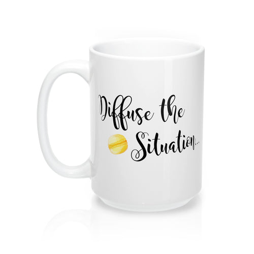 'Diffuse the Situation...Macaron' Mugs