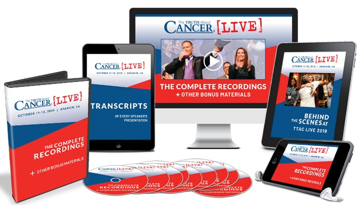 The Truth About Cancer LIVE 2019: The Ultimate Combo Package - DVDs plus Digital Edition