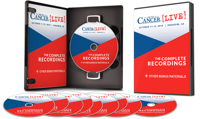 The Truth About Cancer LIVE 2019: The Complete Recordings DVDs plus eBook