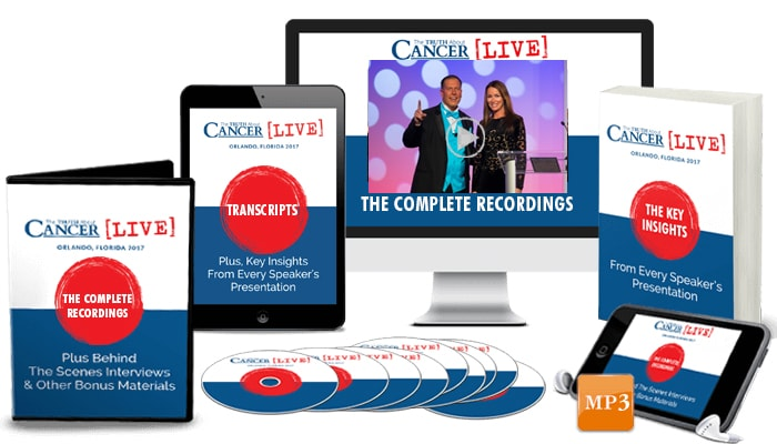 The Truth About Cancer LIVE 2017: The Ultimate Combo Package - DVDs & Print Book & Digital Edition