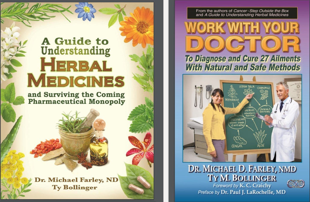 A Guide To Understanding Herbal Medicines AND Work With Your Doctor Ebook combo