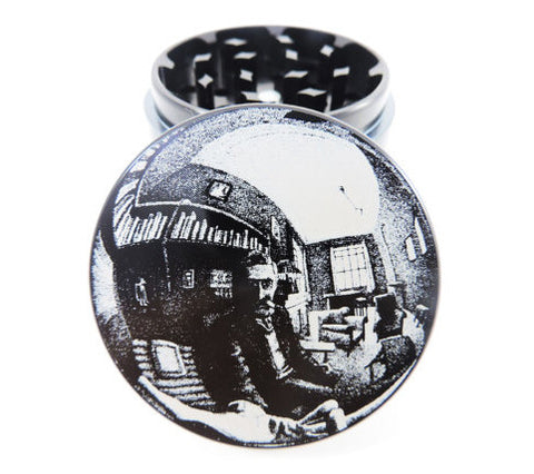 M.C. Escher Hand with reflection Herb Grinder
