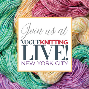 Upcoming Shows: Vogue Knitting Live NYC