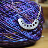 Knitting Needle Gauge Necklace