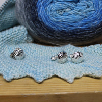 Yarn Ball Cufflinks
