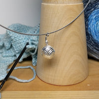 Yarn Ball Pendant