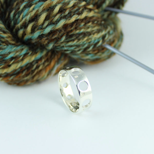 Knitting Needle Gauge Ring