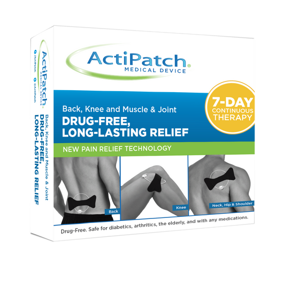 ActiPatch® Advanced 24 Hour Pain Relief - 7 Day Trial - Continuous Treatment