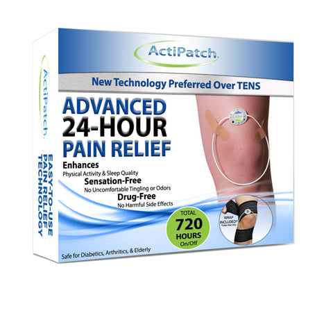 ActiPatch® Advanced 24 Hour Pain Relief - 720 Hours- with On/Off Button