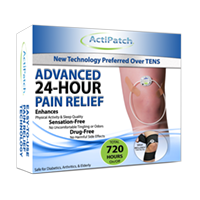 ActiPatch® Advanced 24-Hour Pain Relief- 720 Hours- Wholesale