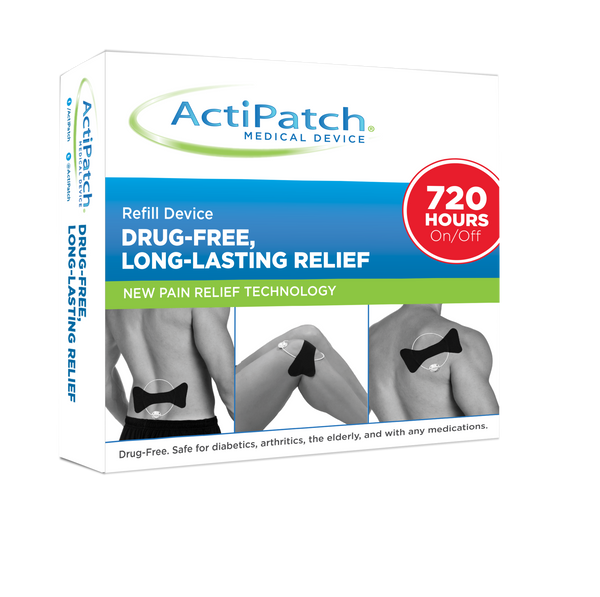 ActiPatch® w/ Kinesiology Tape- 720 Hours- Wholesale