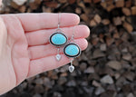Blue Ridge Turquoise Boho Dangles