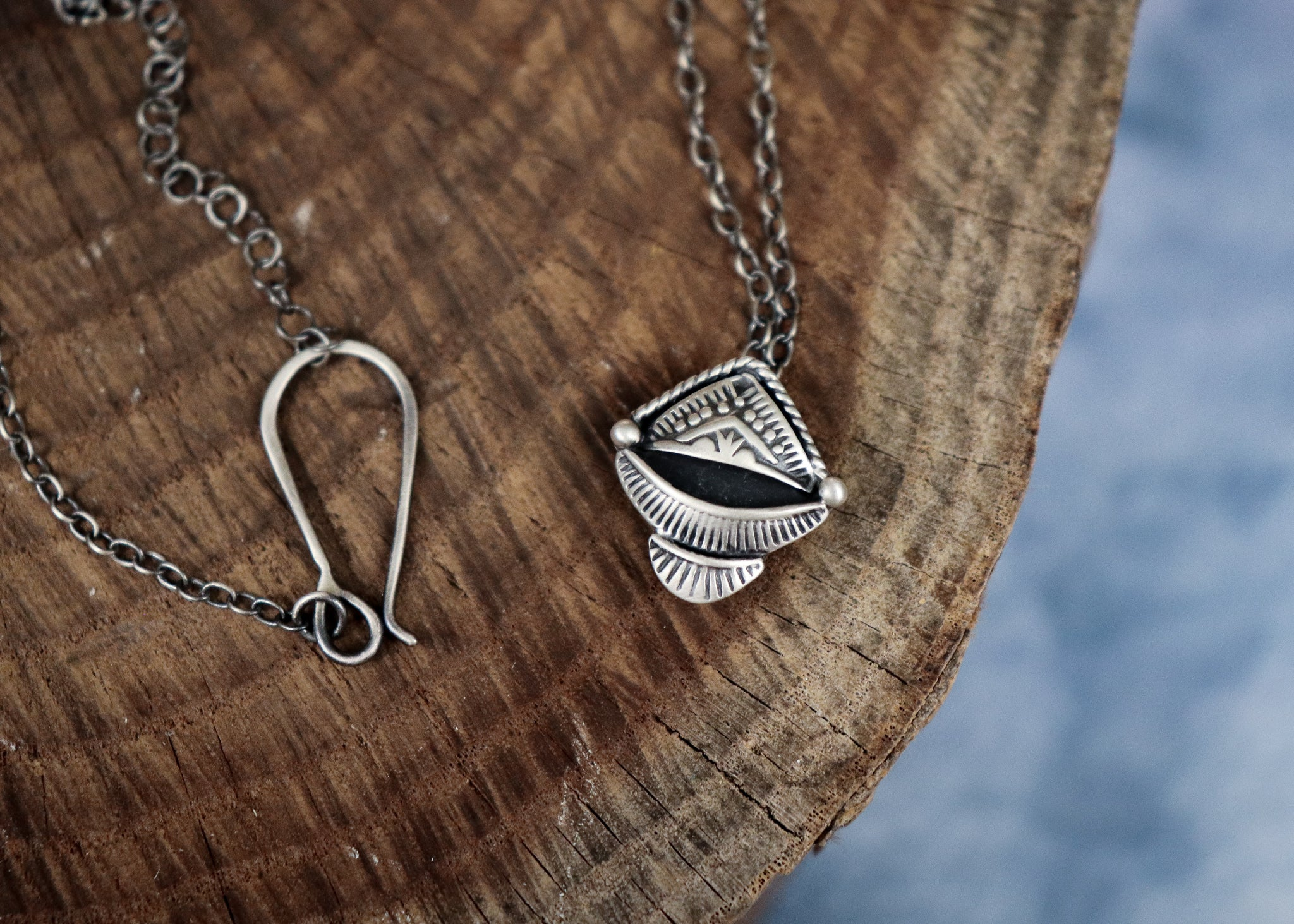 Pyramid Peak Necklace