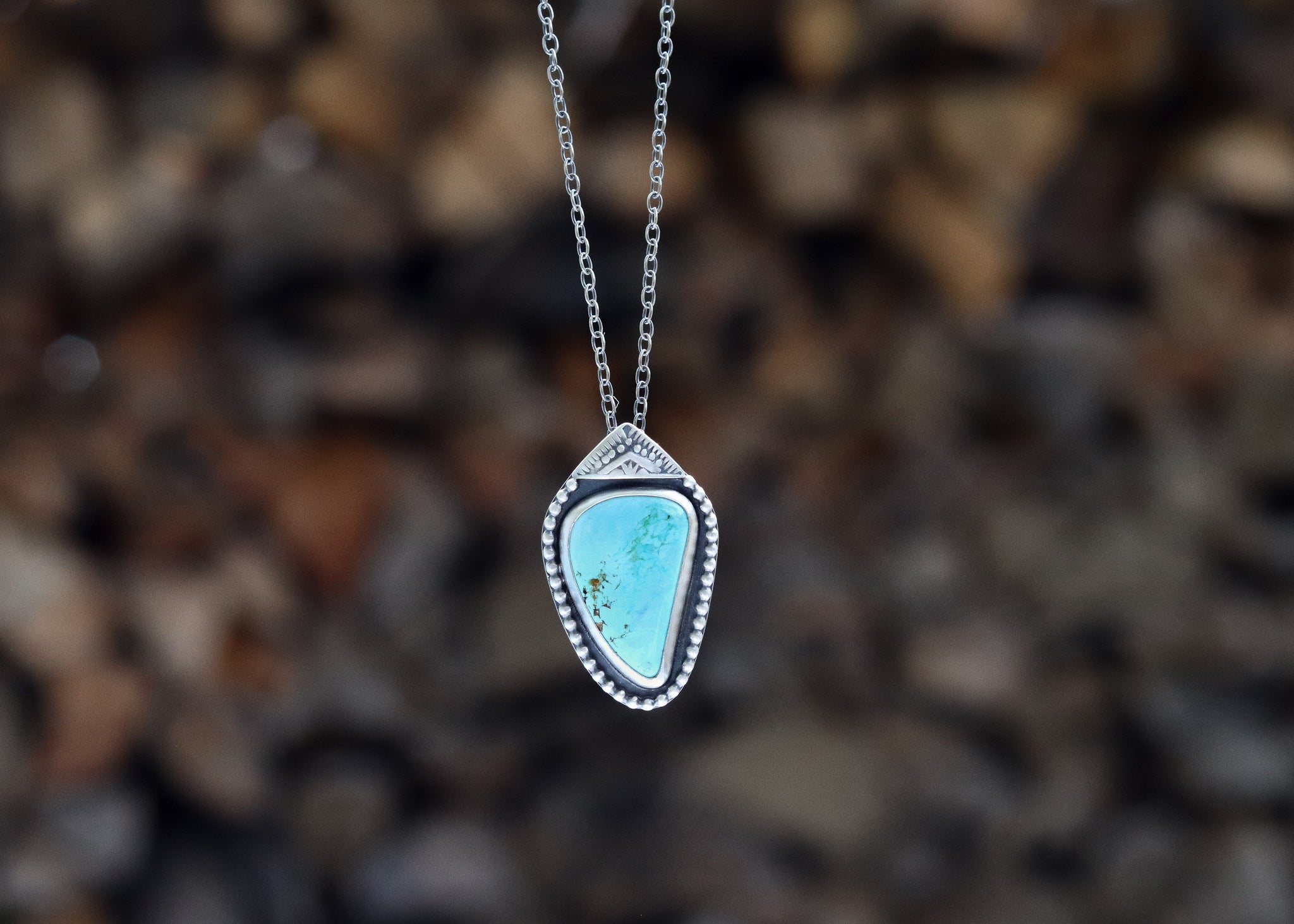 Nevada Turquoise Necklace
