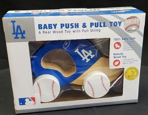 Los Angeles Dodgers Push & Pull Toy