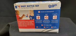 Los Angeles Dodgers Baby Rattle Set